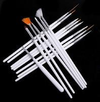 15pcs/set Girl Beauty Nail Acrylic Art Brush Professional Painting Pen Gel Nail Decorations Tools Makeup Finger Drawing Paint