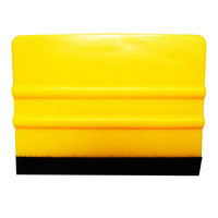 free shipping !! high quality car wrapping tool squeegee with soft ending