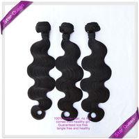 Unprocessed Virgin Indian Hair Body Wave 3pcs/Lot Free Shipping Natural Color Wholesale Landot Hair Indian Human Hair Weave Wavy