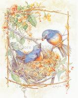 Birds Painting Air Brushing  Painting no Frameless oil painting spray painting,inkjet printer