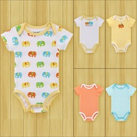 Free Shipping 2014 new Summer cotton Baby Rompers Toddler Jumpsuit spring  Baby Girls boys Newborn bebe overall clothing sets