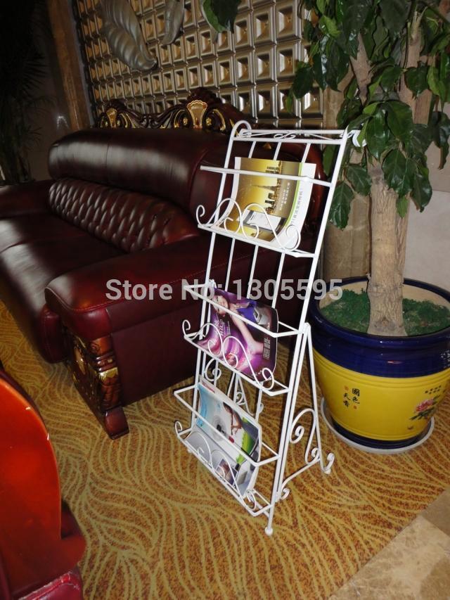 Metal Magazine Rack Newspaper Rack Newspaper Newspaper display data frame propaganda poster frame rack file(China (Mainland))