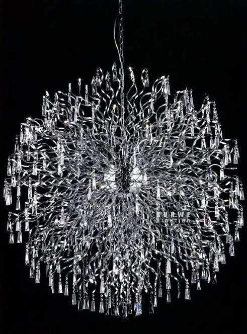 modern iron crystal chandelier lamp ,crystal chandelier contemporary,large contemporary chandelier, D9217,145cm W x 145cm H(China (Mainland))