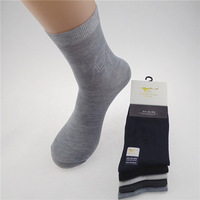 Free shipping Bamboo fiber men's socks color mix 10 pairs / lot QK011