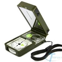 Multifunction 10 in 1 Outdoor Camping Hiking Survival Tool Compass Kit bussola brujula kompasas boussole