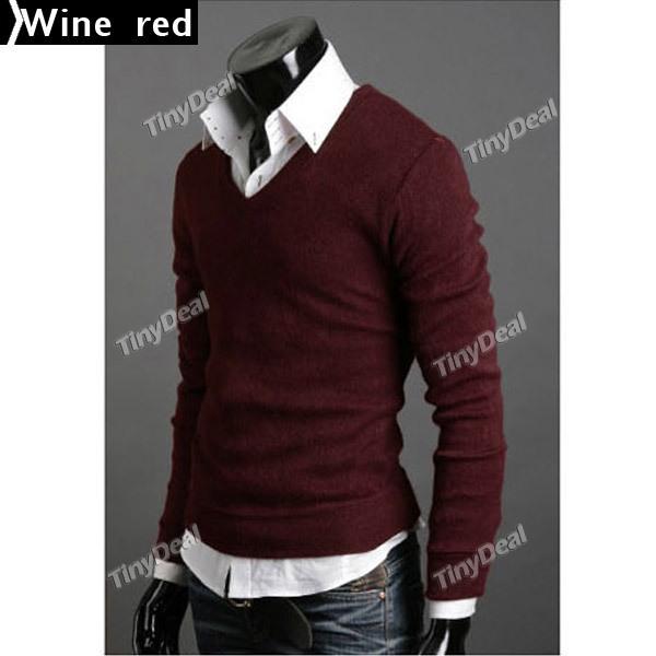 Men V-Neck Sweaters