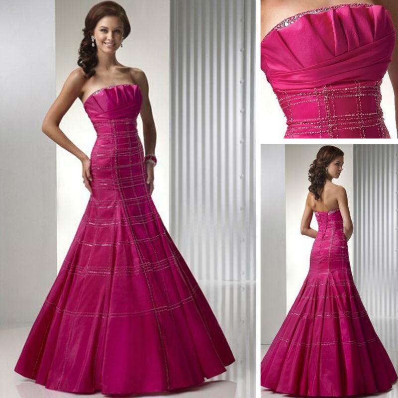 Fuschia Wedding Dress Promotion Online Shopping For Promotional Fuschia Weddi