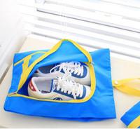 New arrival Travel shoe Bag portable waterproof  Nylon bag for shoes receive bag folding buggy bag