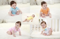 Free Shipping 2014 new Summer cotton Baby Rompers Toddler Jumpsuit spring  Baby Girls boys Clothing sets Baby Products