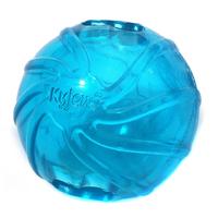 2014 Dog Treat Ball Kyjen Feeding Ball Chewing Ball Dog Toy Crystal Drain Watery Ball Pet Toy Intelligence Training Toy