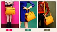 The new trend of big handbags Korean fashion ladies hand diagonal package