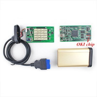 10pcs/lot TCS CDP PRO Scanner With OKI chip ( M6636B OKI Chip) + Bluetooth 2013.03 version DHL/EMS fast shipping