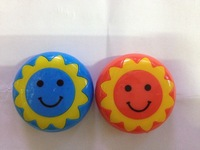 Hot selling, Colorful Sunflower mp3,with card slot,support TOP 8GB , Micro SD/TF card,no tracking code,1pc