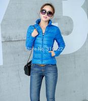 2014 New Women Brand Sport Winter Keep Warm Jacket Down Duck Down,Fashion Women Casual Slim Winter Outwear Down Jacket  A070