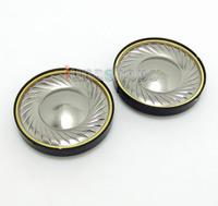 titanium Plated + copper collar Dia 40mm Repair Parts Speaker Unit For DIY Custom Headphone