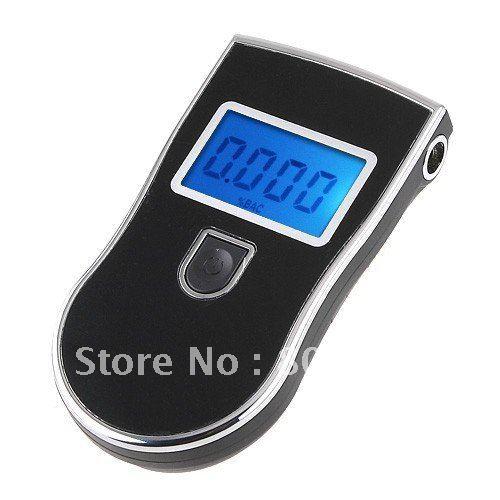 EMS DHL free+100pcs/lot Professional police breathalyzer,breathalyser,alcohol tester digital alcohol breath testers(China (Mainland))