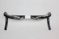 2014 new carbon fiber handlebars cycling carbon bike bars size 40/42/44cm road race bicycle handlebar cheap bike handlebar