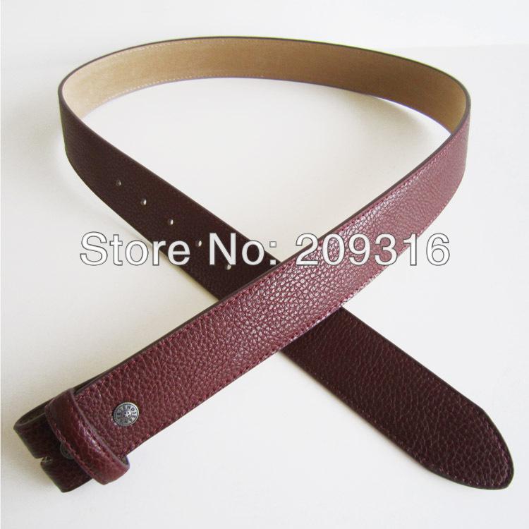 Wholesale Red PU Leather Belt Solid Heavy PU Snap On Belt BELT-PU001RD(China (Mainland))