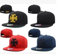 1pc/lot 2014 Hot Sale Set Unisex Chrome  BBOY Snapback Hip Hop Cap Baseball Skateboard Hat YS9297