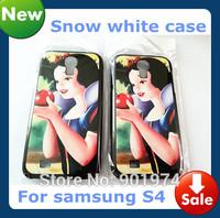 10pcs Wholesale Snow White princess Case For samsung s4 i9500 hard cover