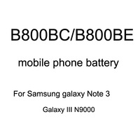 3200mAh B800BE B800BC Battery for Samsung Galaxy Note 3 N9000 N9002 N9005 Battery without Retail Package 20 pcs Free Shipping