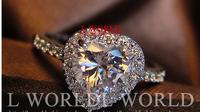 Gorgeous Sapphire &18K white gold ring