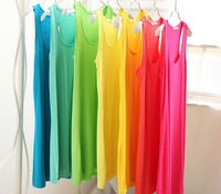 2014 fashion  Summer Camisola Crop Top inside sexy colorful long and short camis tank tops fox printied vest 60-80cm