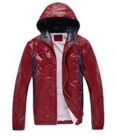 Free shipping, Men's ultralight windproof keep warm hooded outdoor jacket Men casual coat