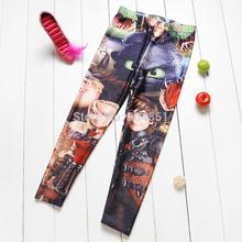 2014 Children Clothing How to Train Your Dragon Digital Printing Baby Boy Girl Pants School Child Legging Sports Pant (China (Mainland))