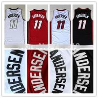 Miami 11 Chris Andersen Throwback Jersey, Cheap Andersen Basketball Shirt Birdman Basketball Jerseys Embroidery Logo