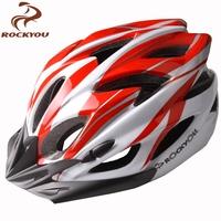 Rockyou bicycle one piece road bike mountain bike helmet ride helmet