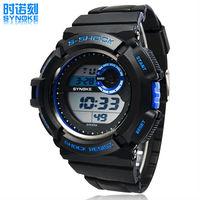 SYNOKE Mens Multi-Function Digital Sports Watches Waterproof Alarm EL Backlight Men Wristwatches relogio masculino 2014