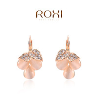ROXI fashion grapes crystal rose gold plated stud earring ,new arrival,Christmas gift for women,Fashion Jewelry,2020404370b