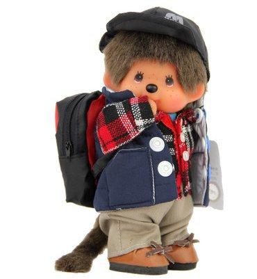 monchhichi плюшевые куклы, Открытый куклы, подарочные
