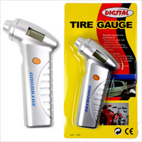 New Precision Digital LCD display Tire Pressure Gauge auto Measure Car Motorcycle Bike Air Pressure tester meter free shipping