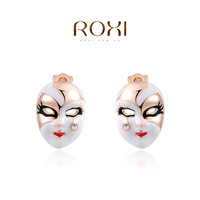 ROXI brand ethnic face stud earring ,new arrival,Christmas gift for women,Fashion Jewelry,2020417325