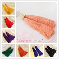 New Arrivacl Classic Retro Ethnic Long Tassels Women's Stud Earrings Girls Friends Gift R-094