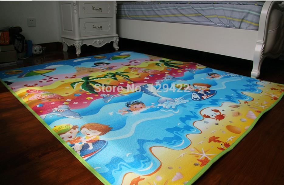 Free Shipping 180*120CM Baby toy Infant Crawling Mat Baby's Climb Pad Picnic mat / play mat(China (Mainland))