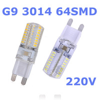 G9 LED 220V 6W lamps MINI Ceramic Bulb led light beads SMD Crystal light source cold white/warm white wholesale free shipping