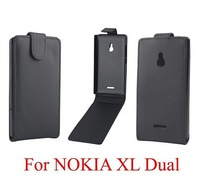 For NOKIA XL cover,PU Leather Cover Case For Nokia XL Free Shipping 5% off for more pcs