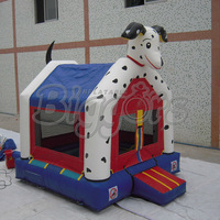 FREE shipping by sea Commercial Spotty Dog Inflatable Bouncer With Good Price