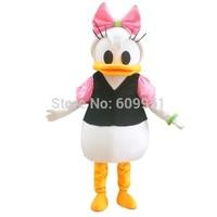 2014 adult size Halloween Christmas duck  Mascot Costume Fancy Dress Hot Sale