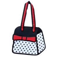 2014 New Design 3D Jump Style Comic Bag Fashion Handbags Women's Cartoons Totes 2D Printed Novely Gismo Shoulder Bag for girls