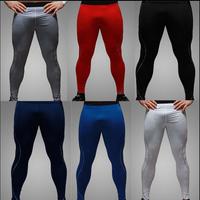 2014 Fashion Hot Mens Compression Base Layers Running Cycling Athletic Tights Long Pants Leggings 28-38 Free Ship