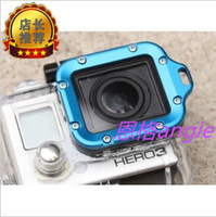 Gopro hd hero3 lens ring camera accessories groining lens ring blue gopro