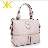Fashion 2013 kardashian kollection brand black chain women's handbag shoulder bag big bag