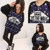 Stars Hoodies For Women Free shipping, Fashion Autumn winter leisure sport suit, women Hoodie, Casual Sweatshirts DA1108