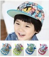 free shipping 2-7 years old new design Children's baseball cap The devil hat fashion Children's hat