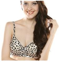 Double-sided silk bra 100% mulberry silk together without steel bracket adjust underwear vest type sports bra x007t