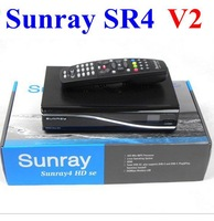 Sunray4 V2 Satellite Receiver with 3 in 1 Triple Tuner with SIM2.20 300Mbps Wifi Build In Sunray SR4 V2 free DHL shipping